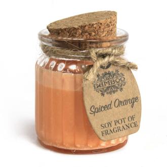 Sójová sviečka Korenistý pomaranč