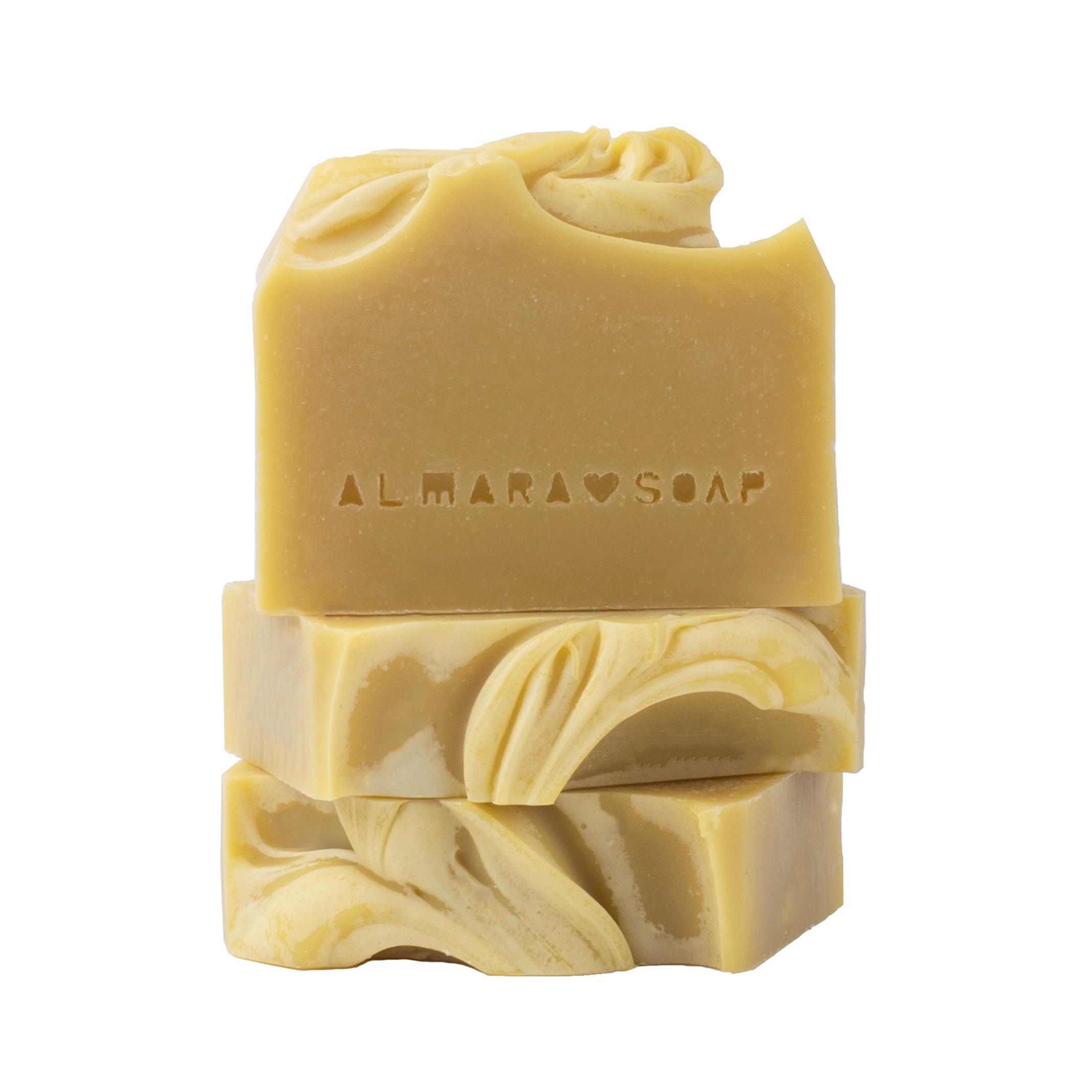 Prírodné dizajnové mydlo Creamy Carrot, 90g
