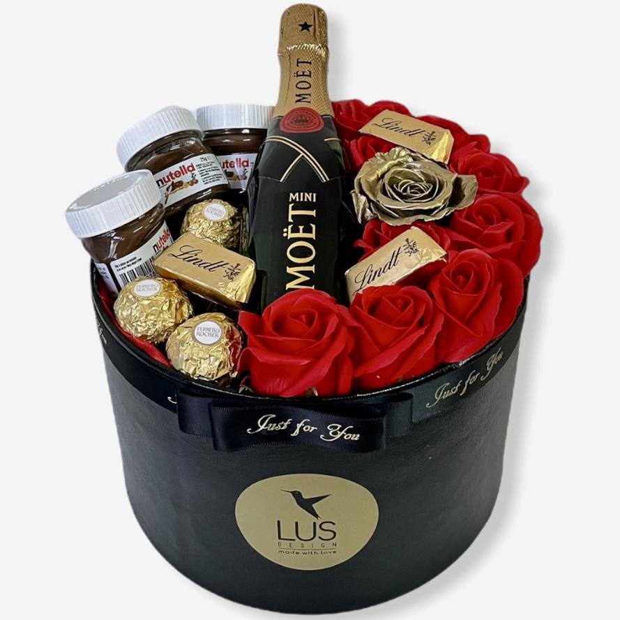 Luxusný darčekový box Gold Red Limited