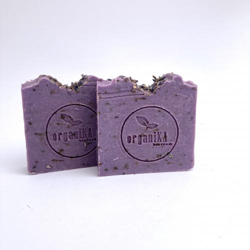 Prírodné levanduľové mydlo, 110g