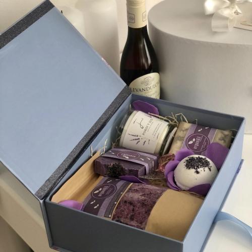 Levanduľový darčekový box + Levanduľové Frizzante
