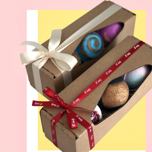 Darčeková krabička so šumivými bombami