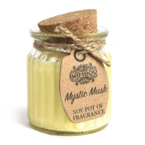 Sójová sviečka Mystický Musk