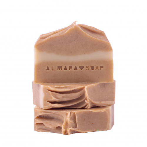Prírodné dizajnové mydlo Curcuma & Honey, 90g
