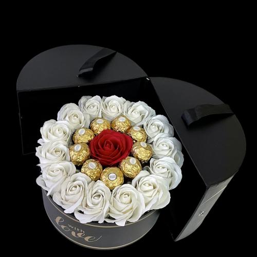 Luxusný čierno-zlatý otvárací box