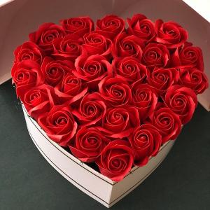 Flower box Red Love