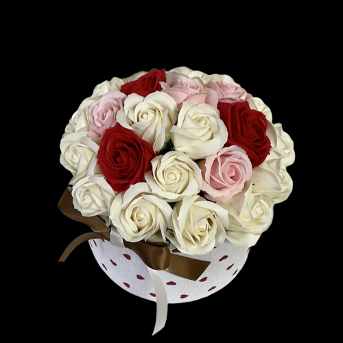 Romantický flower box Roses