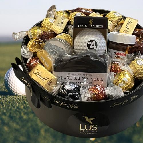 Luxusný darčekový box pre muža Golf Club