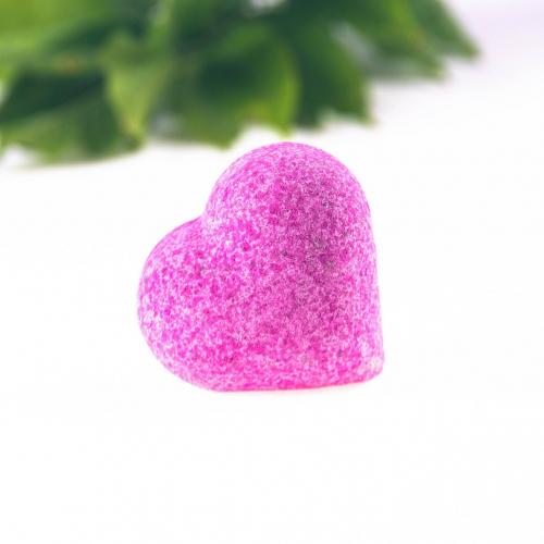 Kúpeľová gulička v tvare srdca Záhradná bazalka, 85g