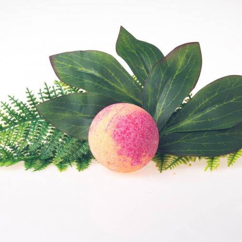 Šumivá bomba do kúpeľa Exotické granátové jablko, 125g