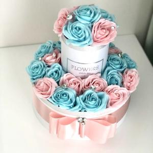 Kvetinová torta Baby Shower