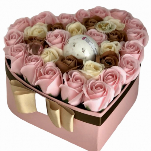 Darčekový flower box Pure Love