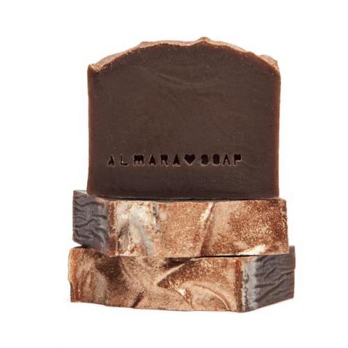 Prírodné dizajnové mydlo Gold Chocolate, 100g